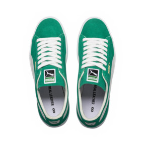 Thumbnail 5 of Suede 90681 Trainers, Kelly Green-Puma White, medium
