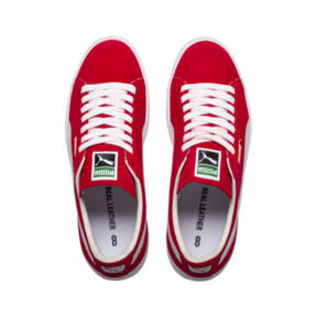 Thumbnail 5 of Suede 90681 Trainers, Ribbon Red-Puma White, medium