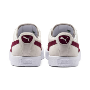 Thumbnail 4 of SUEDE 90681, Whisper Wht-Pomegran-Wht, medium-JPN