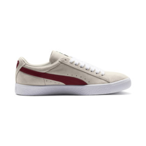 Thumbnail 5 of SUEDE 90681, Whisper Wht-Pomegran-Wht, medium-JPN