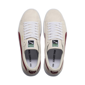 Thumbnail 6 of Suede 90681 Trainers, Whisper Wht-Pomegran-Wht, medium