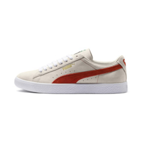 Thumbnail 1 of Suede 90681 Trainers, Whisper Wht-Orange.com- Wht, medium