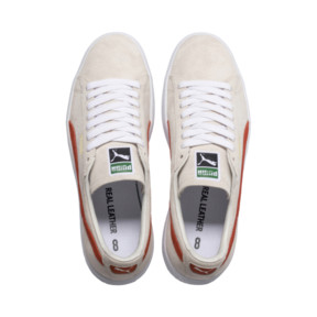 Thumbnail 6 of Suede 90681 Trainers, Whisper Wht-Orange.com- Wht, medium