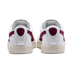 Thumbnail 4 van Basket 90680-sneakers, Puma White-Pomegranate, medium