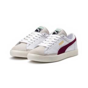 Thumbnail 2 van Basket 90680-sneakers, Puma White-Pomegranate, medium