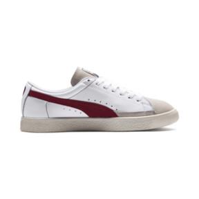 Thumbnail 5 van Basket 90680-sneakers, Puma White-Pomegranate, medium