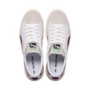 Thumbnail 6 van Basket 90680-sneakers, Puma White-Pomegranate, medium