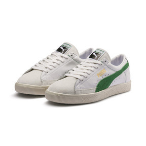 Thumbnail 2 van Basket 90680-sneakers, Puma White-Amazon Green, medium
