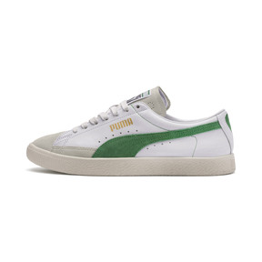 Thumbnail 1 van Basket 90680-sneakers, Puma White-Amazon Green, medium