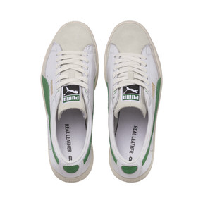 Thumbnail 6 van Basket 90680-sneakers, Puma White-Amazon Green, medium