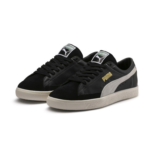 Basket 90680 Trainers, Puma Black-Puma White, large