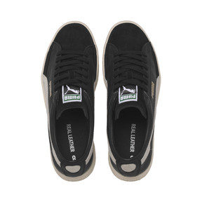 Thumbnail 6 of Basket 90680 Trainers, Puma Black-Puma White, medium