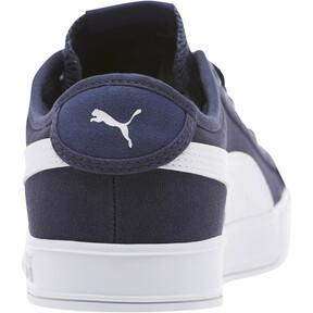 Thumbnail 4 of Smash V2 Vulc CV Men's Sneakers, Peacoat-Puma White, medium