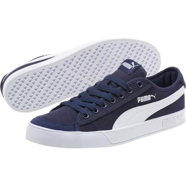 Smash V2 Vulc CV Men's Sneakers, Peacoat-Puma White, large