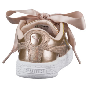 Thumbnail 4 of Basket Heart Lunar Lux Girls' Sneakers, Cream Tan, medium