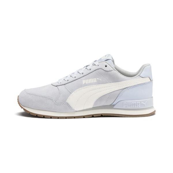 Zapatos deportivos ST Runner v2 Suede para JR, Heather-Whisper White, grande