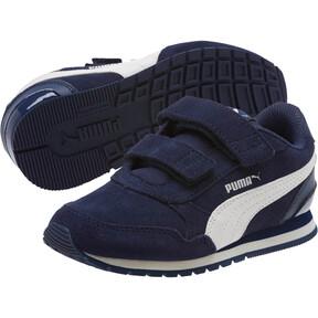 Thumbnail 2 of ST Runner v2 SD V Little Kids' Shoes, Peacoat-Whisper White, medium