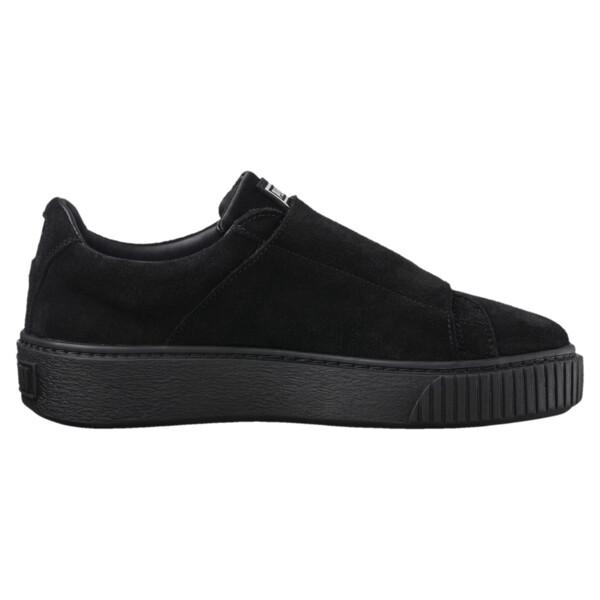 c50f8b1e1d Platform Strap Satin EP Women's Sneakers, Puma Black-Puma Black, large