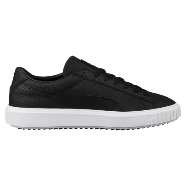 Suede Breaker Sneakers, 01, large