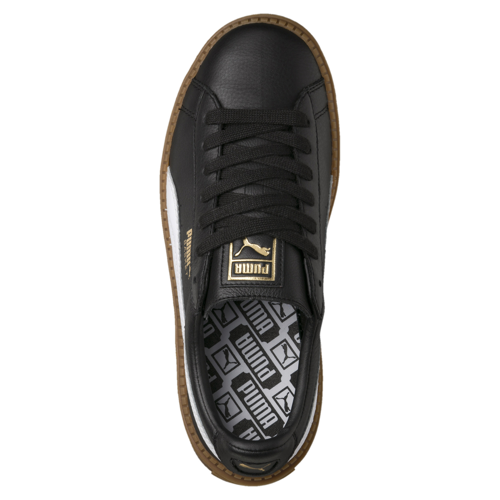Puma Basket Platform Trace Leather Damen Sneaker