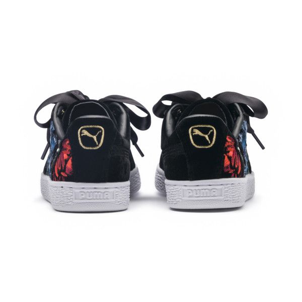 buy popular 8de37 66153 Basket Heart Hyper Embroidery Women's Trainers