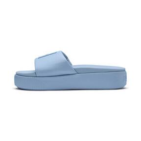 Thumbnail 1 of Platform Slide Women's Sandals, CERULEAN-Peacoat, medium