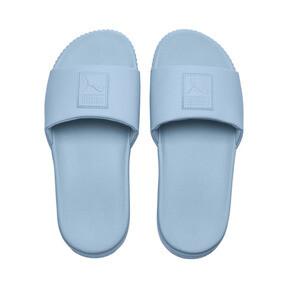 Thumbnail 6 of Platform Slide Women's Sandals, CERULEAN-Peacoat, medium