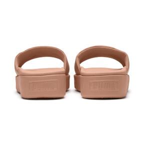 Thumbnail 4 of Platform Slide Women's Sandals, Dusty Coral-Puma Black, medium