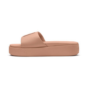 Thumbnail 1 of Platform Slide Women's Sandals, Dusty Coral-Puma Black, medium