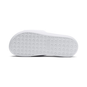 Thumbnail 4 of Platform Slide Women's Sandals, Puma White-Puma White, medium