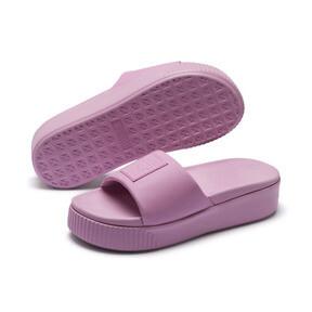 Thumbnail 2 of Platform Slide Women's Sandals, Pale Pink-Pale Pink, medium