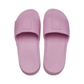 Thumbnail 6 of Platform Slide Women's Sandals, Pale Pink-Pale Pink, medium