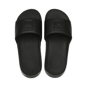 Thumbnail 6 of Platform Slide Women's Sandals, Puma Black-Puma Black, medium