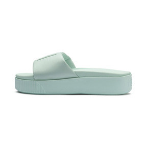 Thumbnail 1 of Platform Slide Women's Sandals, Fair Aqua-Fair Aqua, medium