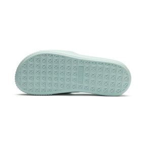 Thumbnail 4 of Platform Slide Women's Sandals, Fair Aqua-Fair Aqua, medium