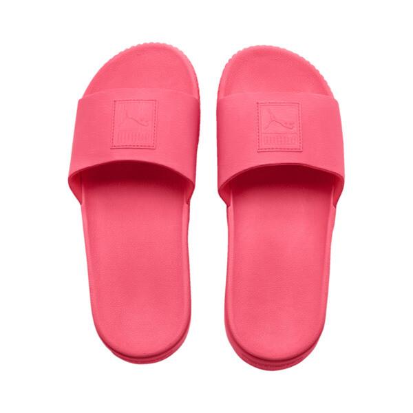 Platform Slide Women's Sandals, Pink Alert-Pink Alert, large