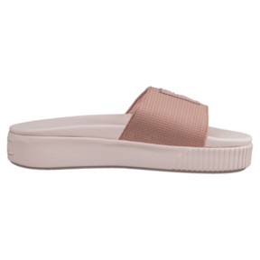 Thumbnail 3 of Platform Slide EP Women's Sandals, Peach Beige-Pearl, medium