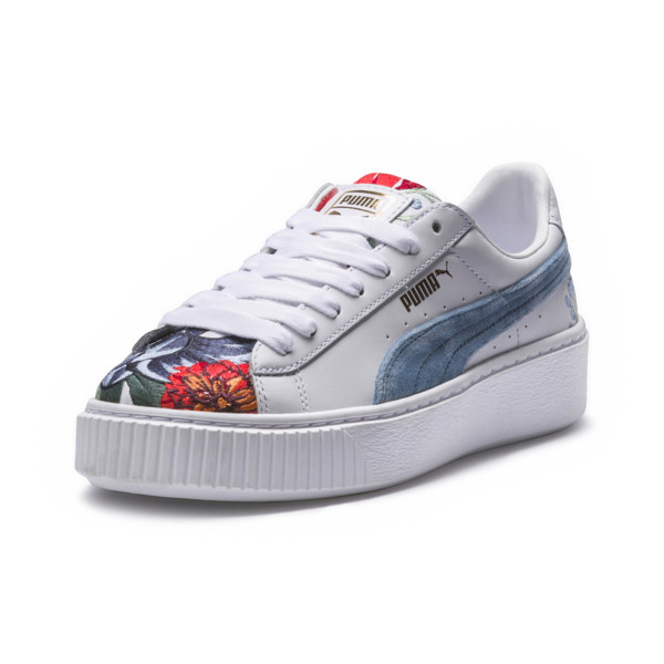 2c5186ed0d1cb Platform Hyper Embroidered Women's Sneakers