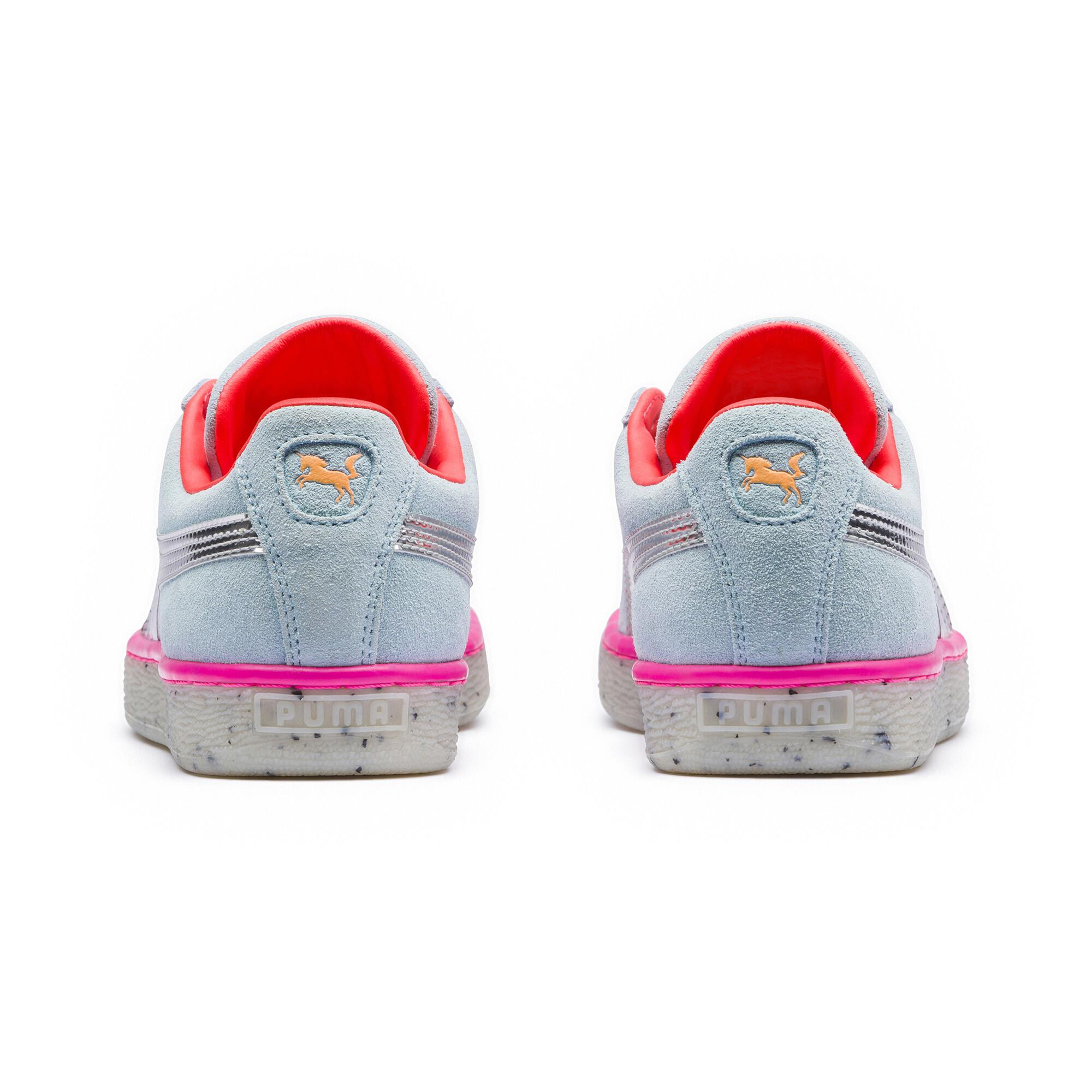 Image Puma PUMA x SOPHIA WEBSTER Women's Suede Candy Princess Sneakers #4