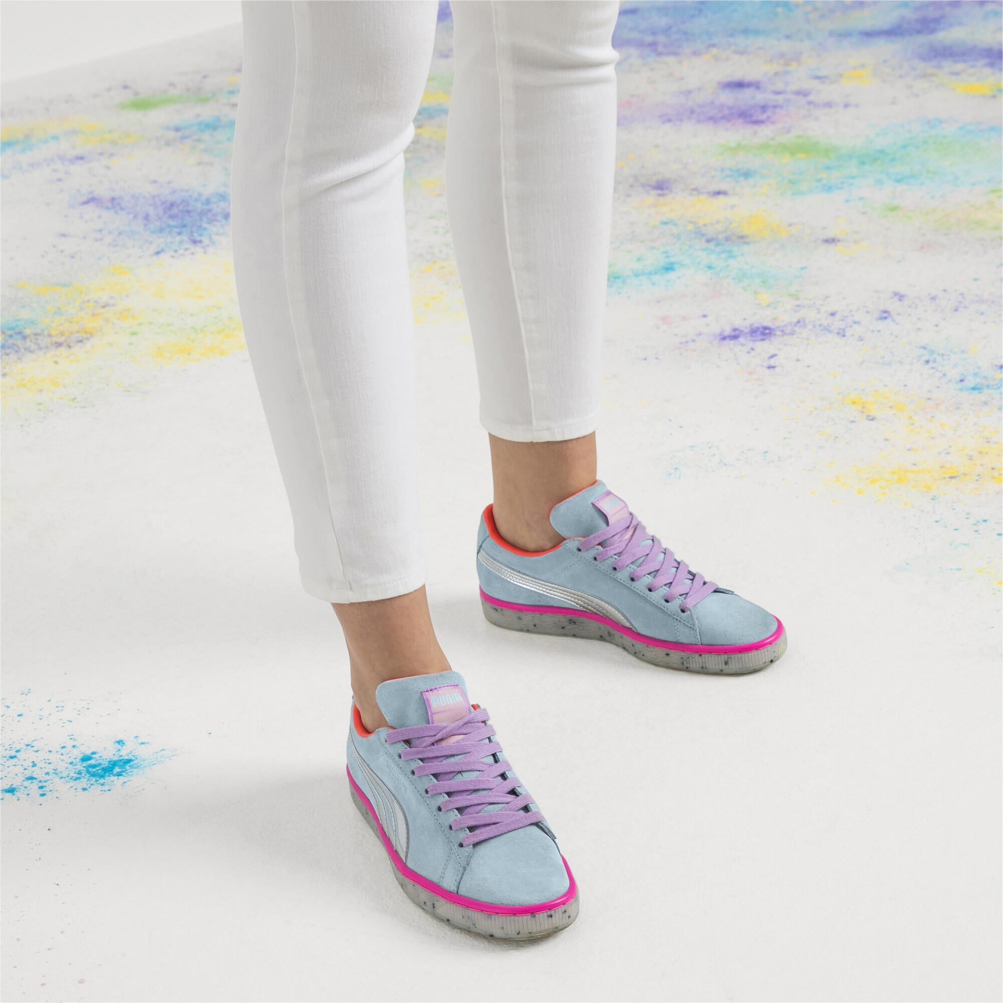 Image Puma PUMA x SOPHIA WEBSTER Women's Suede Candy Princess Sneakers #7