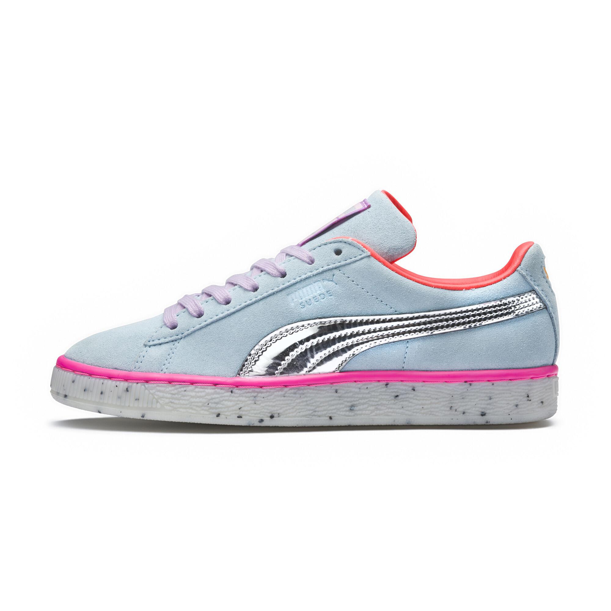 Image Puma PUMA x SOPHIA WEBSTER Women's Suede Candy Princess Sneakers #1