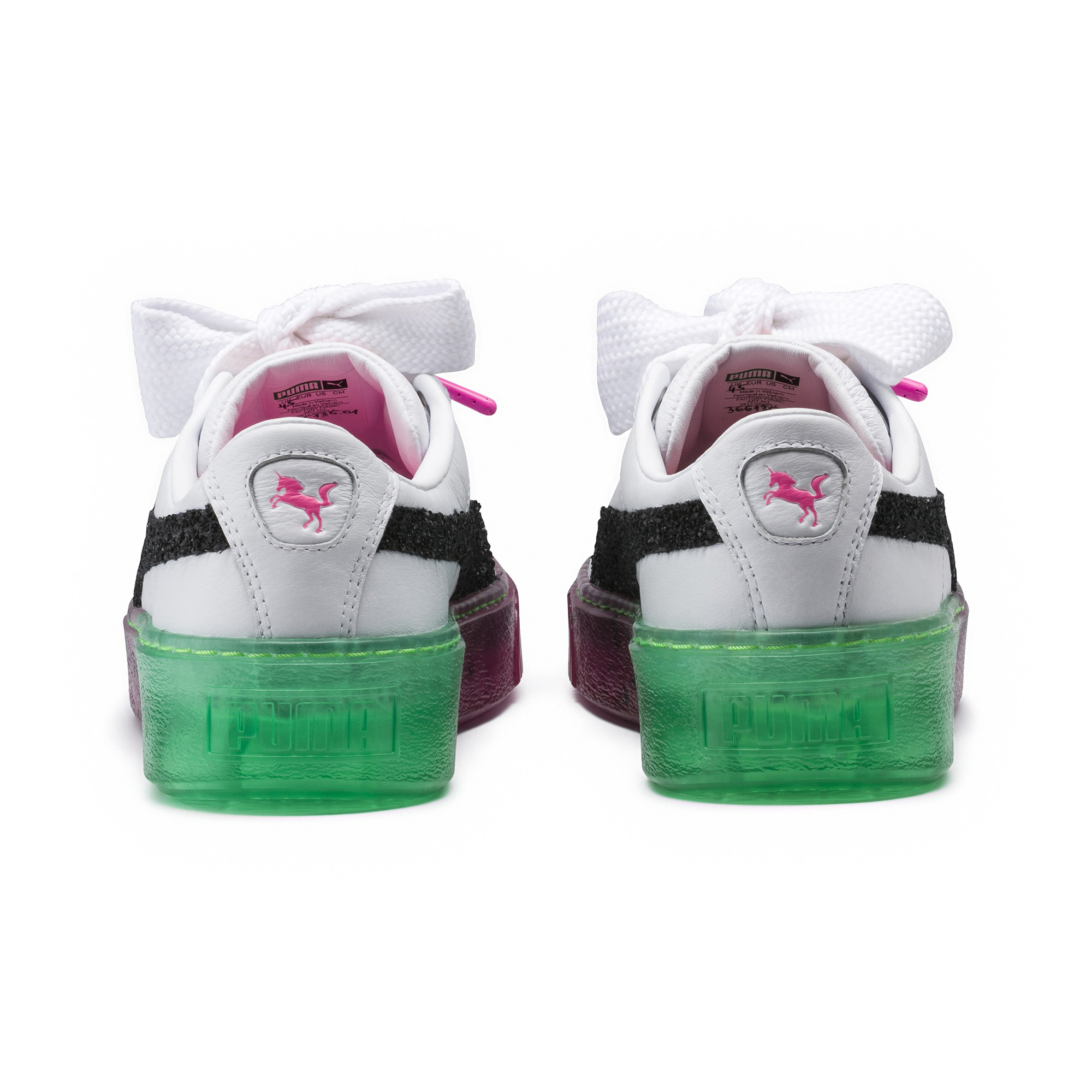 Image Puma PUMA x SOPHIA WEBSTER Women's Platform Candy Princess Sneakers #4