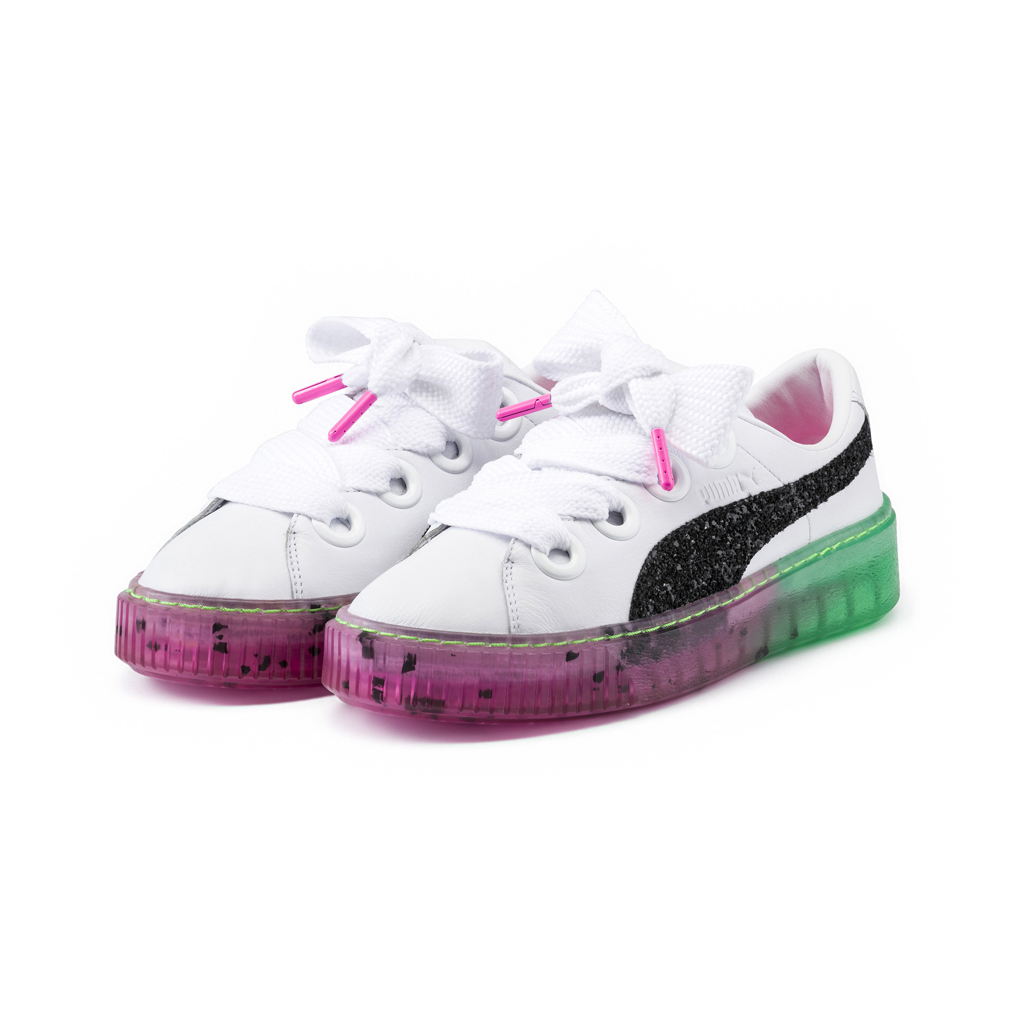 Image Puma PUMA x SOPHIA WEBSTER Women's Platform Candy Princess Sneakers #2