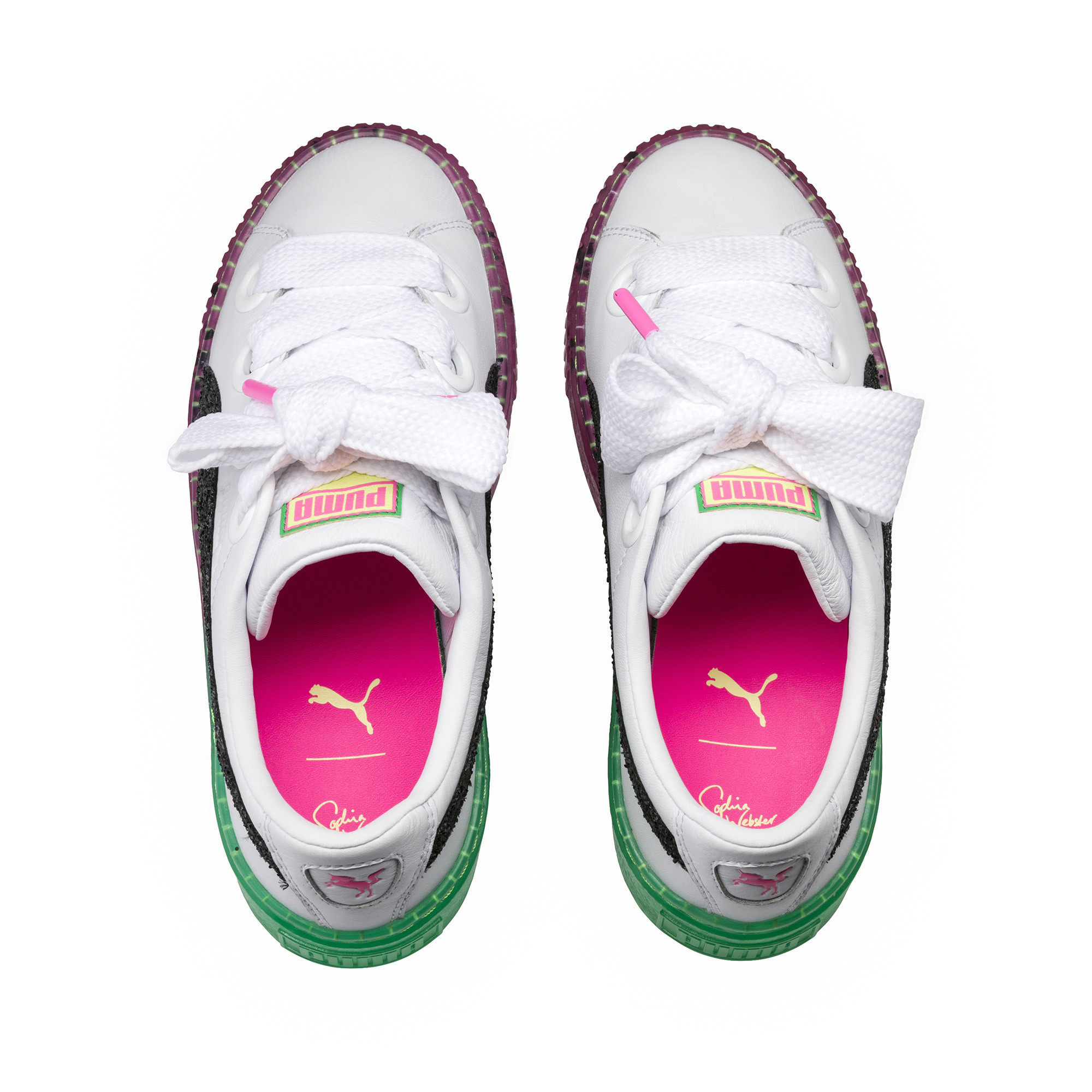 Image Puma PUMA x SOPHIA WEBSTER Women's Platform Candy Princess Sneakers #5