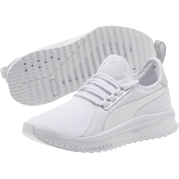 TSUGI Apex JR Sneakers, Puma White-Puma White, large