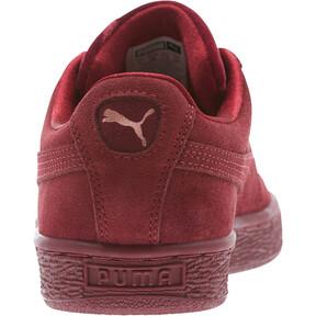 Thumbnail 4 of Suede Classic Velvet Women's Sneakers, Cordovan, medium