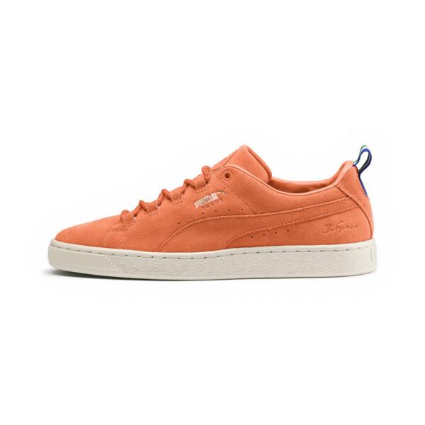 PUMA x BIG SEAN Suede Sneakers, Melon-Melon, large