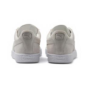Thumbnail 4 of Suede Classic White Sneakers, Puma White-Puma White, medium