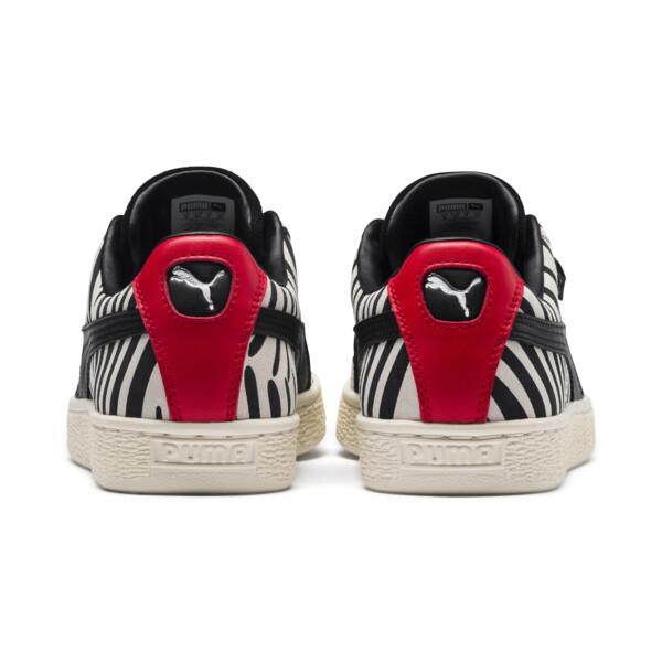 PUMA x Paul Stanley SUEDE CLASSIC, Puma White-Puma Black, large-JPN