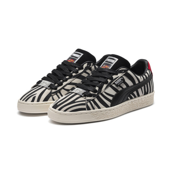 PUMA x Paul Stanley Suede Men's Sneakers, Puma White-Puma Black, large